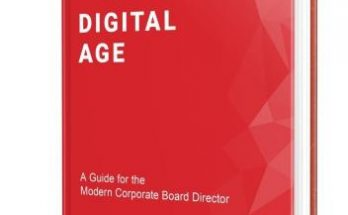 Book Launch: Governance in the Digital Age Provides A New Framework for Board Directors