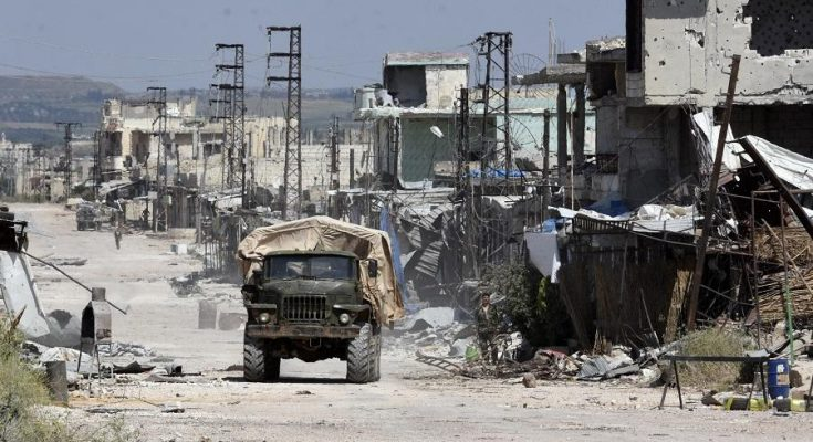 Syrian army takes strategic town from rebels in new advance